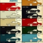 """1971 Fiat 850 Family Color Chart • <a style=""""font-size:0.8em;"""" href=""""http://www.flickr.com/photos/34925363@N08/4946932167/"""" target=""""_blank"""">View on Flickr</a>"""