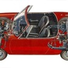 """Fiat 850 Spider Drive Train See Thru • <a style=""""font-size:0.8em;"""" href=""""http://www.flickr.com/photos/34925363@N08/5592532836/"""" target=""""_blank"""">View on Flickr</a>"""
