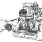 """Fiat 850 Engine - Left Side • <a style=""""font-size:0.8em;"""" href=""""http://www.flickr.com/photos/34925363@N08/6131656363/"""" target=""""_blank"""">View on Flickr</a>"""
