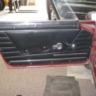 """The door panel with all but the window crank removed. • <a style=""""font-size:0.8em;"""" href=""""http://www.flickr.com/photos/34925363@N08/6122737326/"""" target=""""_blank"""">View on Flickr</a>"""