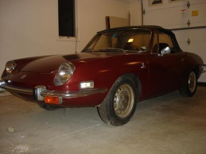 1971 Fiat 850 as I Found her