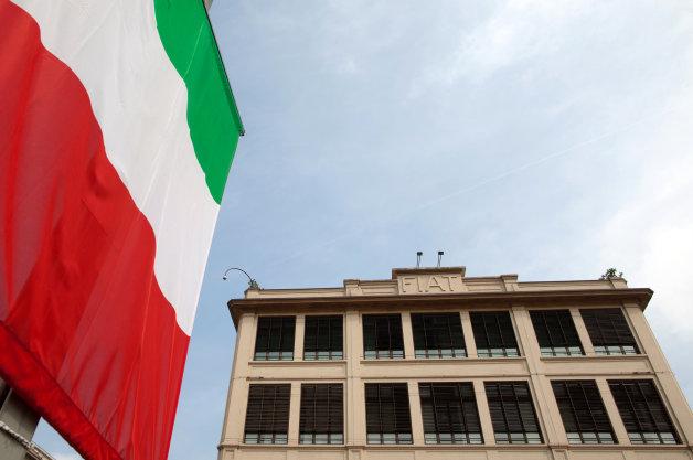 Fiat SpA Executives At The Turin Headquarters
