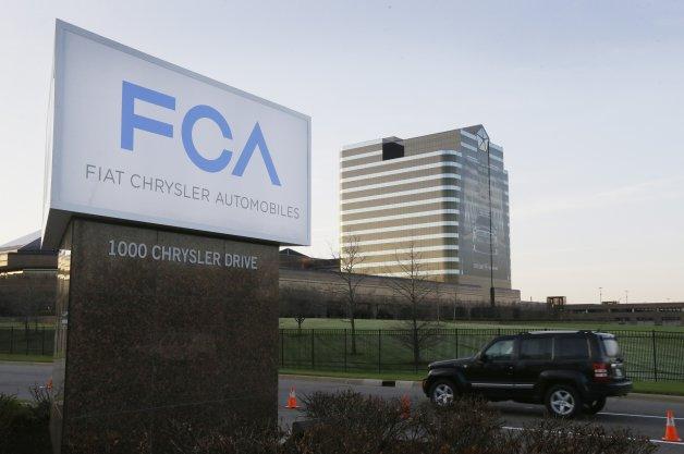 Fiat Chrysler Automobiles sign
